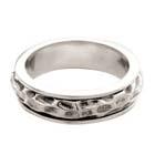 Вращающиеся кольца из олова, покрытые